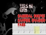 Cannibal Corpse - Hammer Smashed Face Guitar CoverTABS on Video!