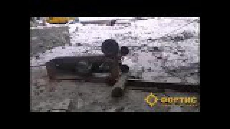 Канатная машина RSS-001 дает жару в условиях отрицательных температур
