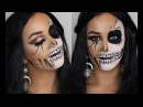 SKULLS FOR HALLOWEEN PART 1 MAKEUP TUTORIAL INGLOT AUSTRALIA INSPIRED BY DESI PERKINS