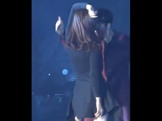 161226 GOT7 Jackson and Gfriend Sinb couple dance FANCAM /SBS Gayo Daejun