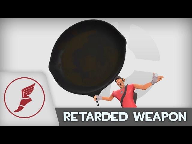 Joke Weapon Demonstration: Fry-Ear Pan