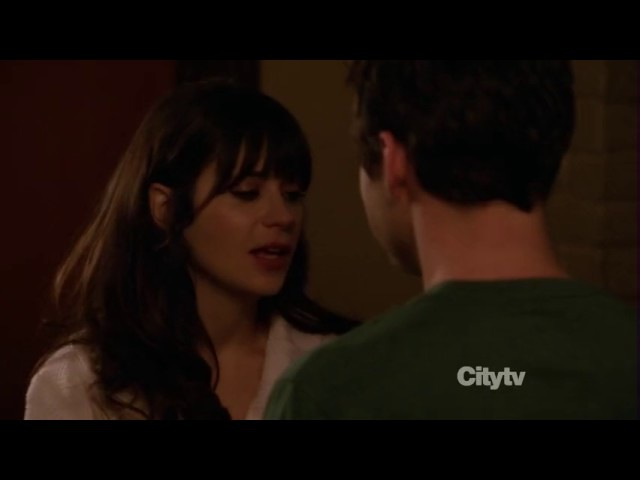 New Girl: Nick Jess 2x15 16 (Nick: I meant something like that/Ness first kiss)