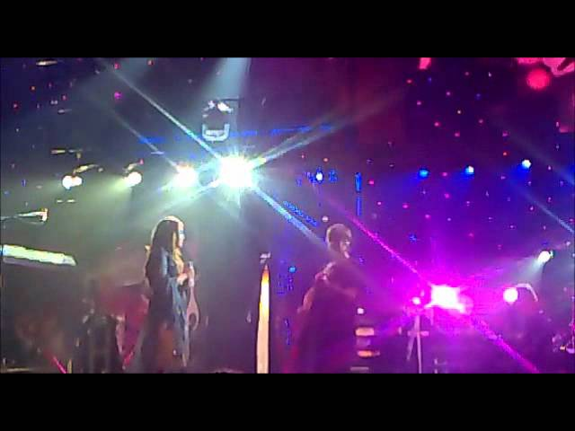 Miley Cyrus singing On Melancholy Hill by Gorillaz