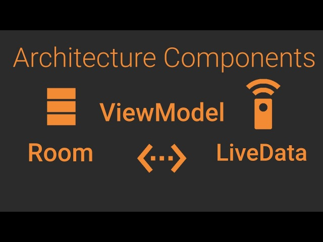 Let's Build a Room Database App Room ViewModel LiveData Dagger 2 MVVM Architecture