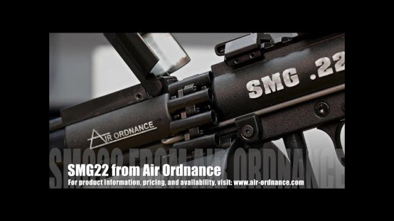 Air Ordnance SMG.22 Airgun Review - by Rick Eutsler / AirgunWeb