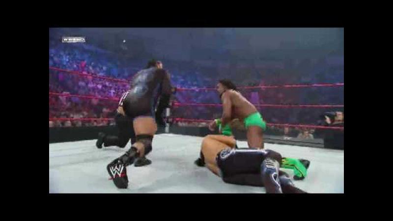 WWE Superstars 6/25/09 Matt Hardy Vs MVP Vs Kofi Kingston For US Championship 1/2 HD 720p