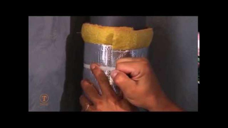Звукоизоляция для водосточных и канализационных труб Tecsound FT AL