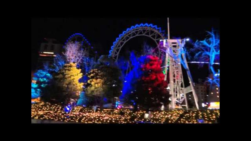 Япония. Рождественская иллюминация в Токио Доме/Christmas Illumination Tokyo Dome