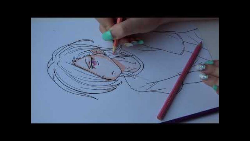 Drawing anime / Hanzou Urushihara / Ханзо Урушихара / Сатана на подработке