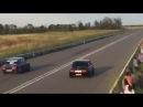 Авария на гонках в Ингушетии