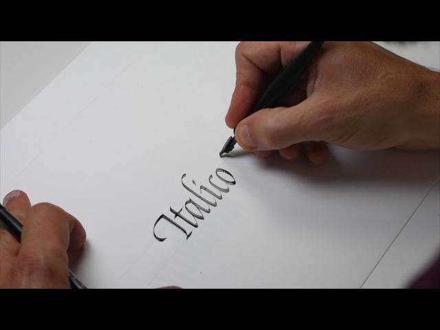 We Are Calligraphy Season 2 BONUS Italico Tradicional x Henrique Valente