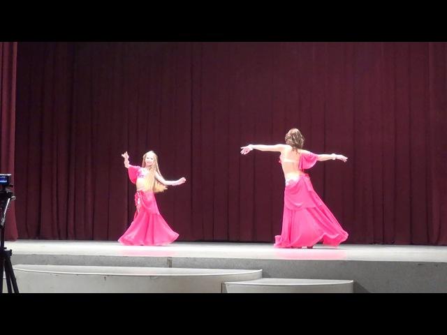 Бухинник Татьяна,Шулешко Мария/дуэт классика/Raks el Sharky/Студия восточного танца IMPULS