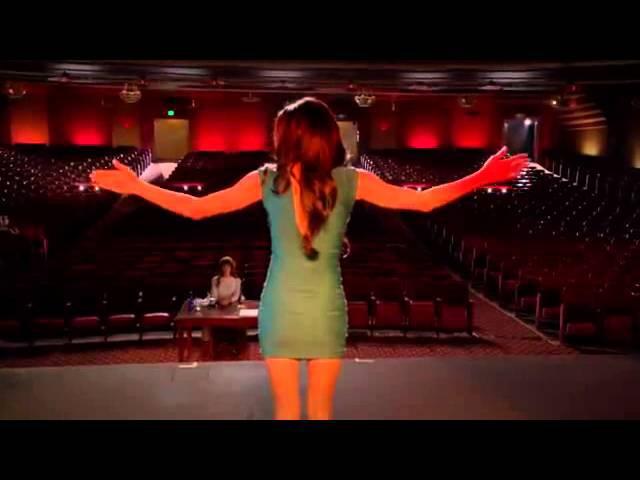 Glee - Don't Rain on my Parade Santana Lopez/ Full Performance- HD