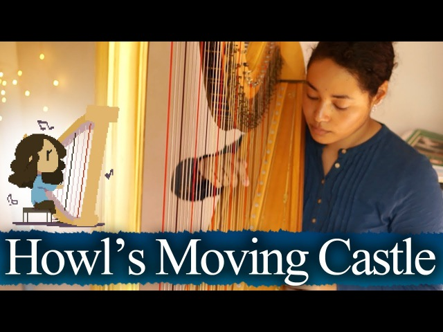 Howls Moving Castle - Merry-Go-Round of Life (Harp)