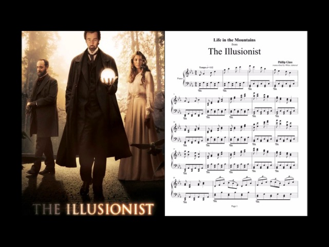 The Illusionist - Life in the Mountains - Phillip Glass