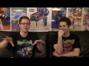 James Rolfe tells his invisible Super C story to Mike Matei