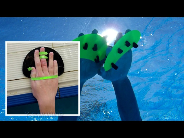 Лопатки в спортивном плавании
