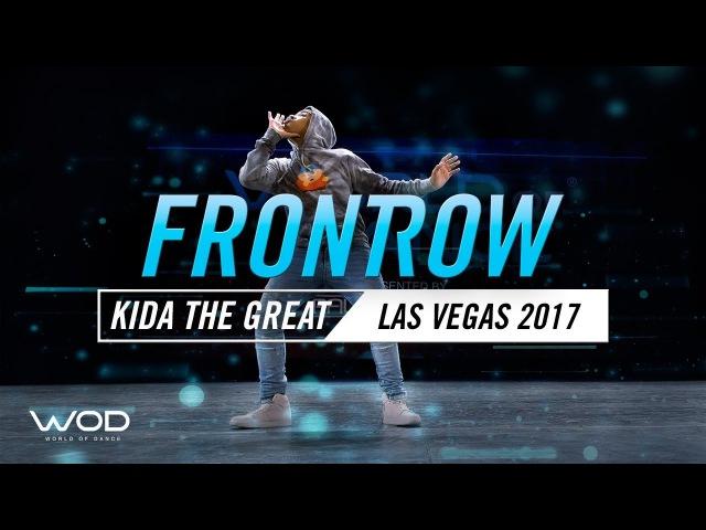 Kida The Great   FrontRow   World of Dance Las Vegas 2017  WODLV17   Danceproject.info