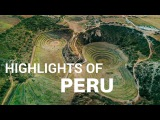 Highlights of Peru from Above DJI Mavic Pro 4K