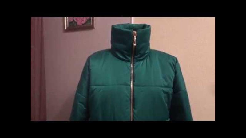 Теплая зимняя куртка своими руками Кроим и отшиваем