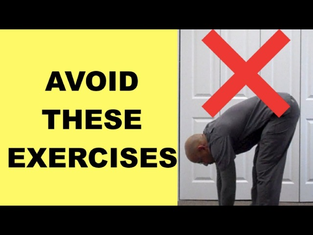 Lumbar Slipped Disc? Exercises You MUST AVOID with Herniated Discs Sciatica