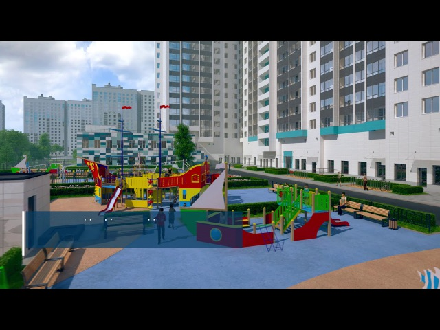 3D тур по ЖК «МореОкеан»