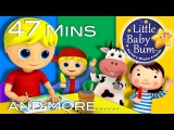 Georgie Porgie Plus Lots More Nursery Rhymes 47 Minutes Compilation from LittleBabyBum!