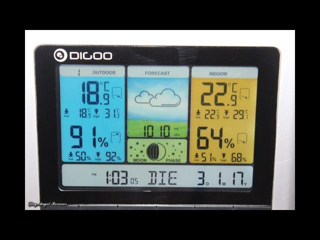 метеостанция Digoo DG TH8888 Pro