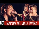 NAPOM vs MAD TWINZ | Fantasy Battle OVERTIME | World Beatbox Camp
