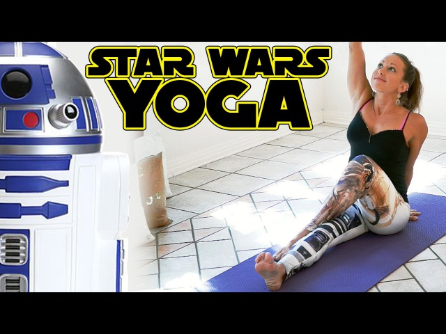 Star Wars Yoga For Beginners Workout For Weight Loss Flexibility Stretches 20 Minute Class