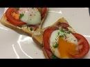 Тосты с яйцами пашот по технологии Sous Vide (Су Вид)