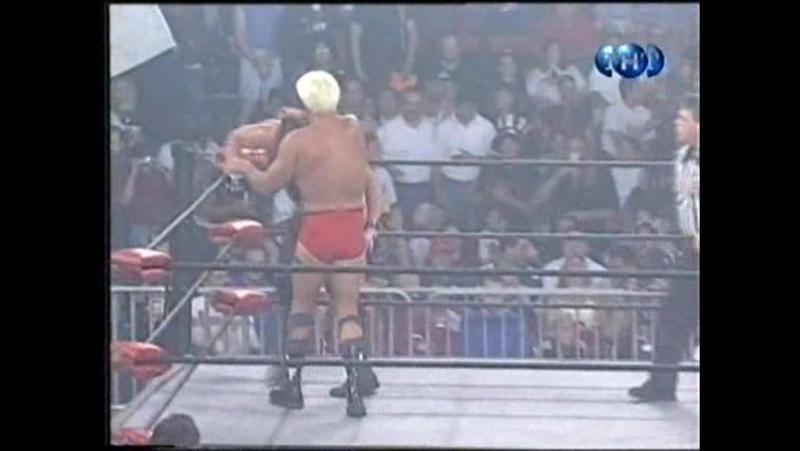 Титаны реслинга на ТНТ и СТС WCW Nitro July 19 1999