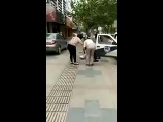 жесткая китайская полиция