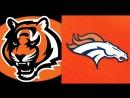NFL 2017-2018 / Week 11 / 19.11.2017 / Cincinnati Bengals @ Denver Broncos