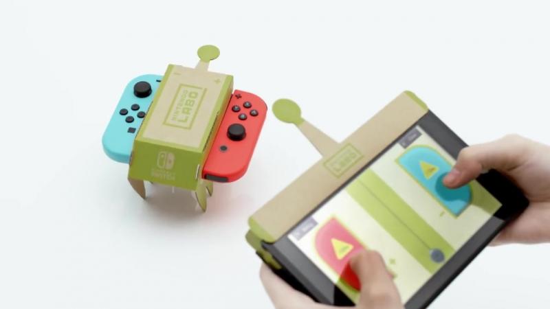 Анонсирована Nintendo Labo для Switch, с помощью которой можно создавать все, что угодно  Выйдет эта штука 27 апреля по цене $80