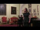 Юлия Волкова. Чайковский П. И. Ариозо Иоланты из оперы