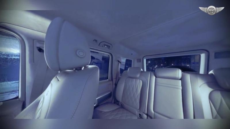 New G-class Exclusive interior PLUS - macchiato beige designo leather and AMG carbon fiber.mp4