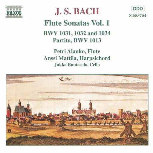Petri Alanko альбом Bach, J.S.: Flute Sonatas, Vol. 1