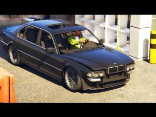 НАШЛИ ЗАБРОШЕННУЮ BMW 750 !!! ГТА 5 РЕАЛЬНАЯ ЖИЗНЬ (GTA 5 МОДЫ)