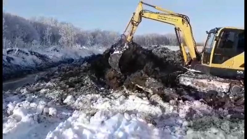 Отсыпка участка