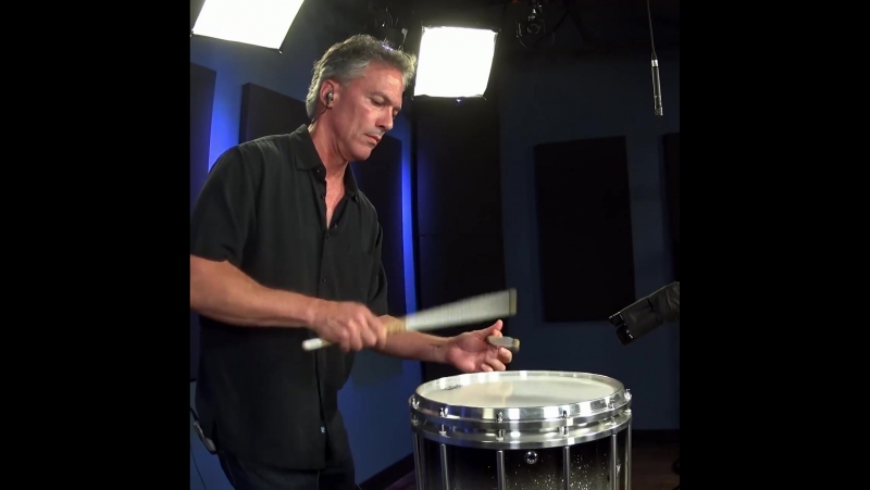 Enjoy this snare drum solo by John Wooton!