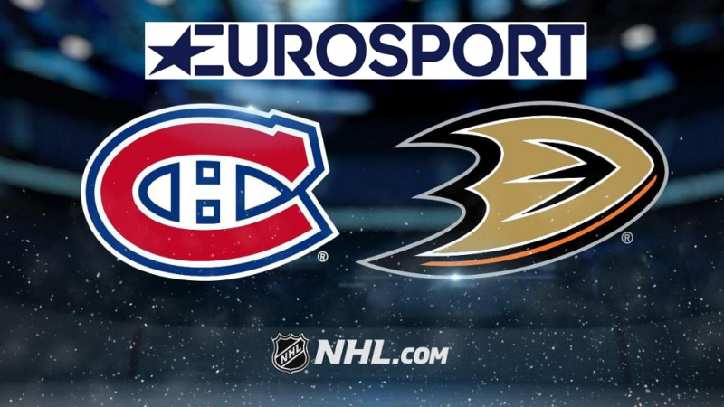 NHL RS 2017-18, 20.10.2017 Montreal Canadiens - Anaheim Ducks