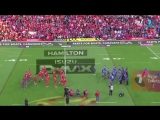 Танцевальный баттл регбистов Самоа и Тонга