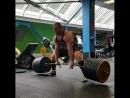 Сергей Дараган - тяга 370 кг на 4