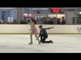 Елизавета Худайбердиева /Никита Назаров ЮГП в Австралии, Брисбен 2017 Произвольный танец