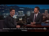 Darren Criss on Kimmel (рус. суб.)