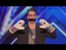 Tape Face- Strange Act Leaves the Audience Speechless - America's Got Talent 2016 Auditions