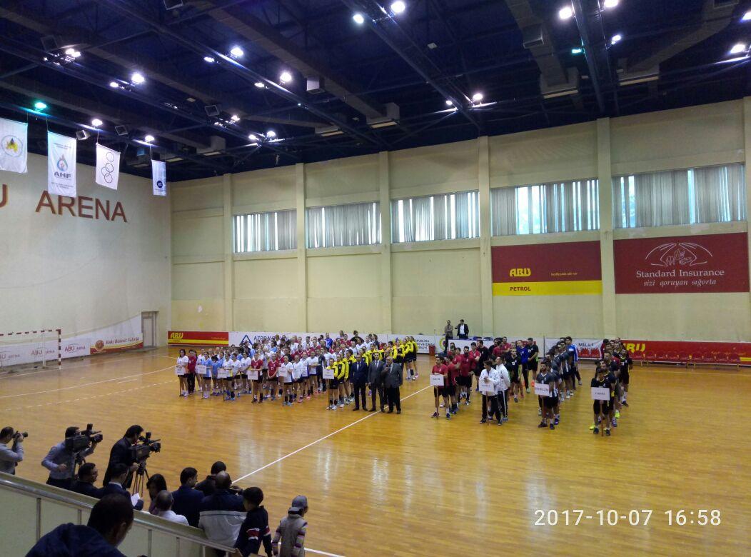 Həndbol üzrə XXV Azərbaycan çempionatına start verildi