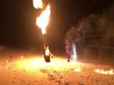 Свадьба Сергея и Алины 28.01.2018г. Огненное шоу Ноябрьск