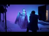 Нина Добрев на съемках фотосессии для журнала Rogue